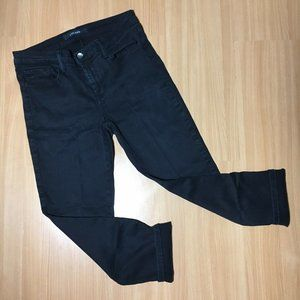 J BRAND Denim Jeans Skinny Leg Stretching Black